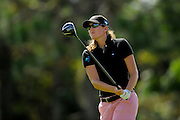 Cydney Clanton during the first round of the Symetra Tour Championship at LPGA International on Sept. 26, 2013 in Daytona Beach, Florida. <br /> <br /> <br /> ©2013 Scott A. Miller