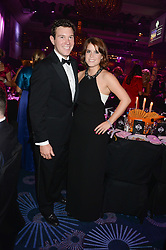 British fine jewellery brand Boodles welcomed guests for the 2013 Boodles Boxing Ball in aid of Starlight Children's Foundation held at the Grosvenor House Hotel, Park Lane, London on 21st September 2013.<br /> Picture Shows:- PRINCESS EUGENIE OF YORK and JACK BROOKSBANK.<br /> Press release - https://www.dropbox.com/s/a3pygc5img14bxk/BBB_2013_press_release.pdf<br /> <br /> For Quotes  on the event call James Amos on 07747 615 003 or email jamesamos@boodles.com. For all other press enquiries please contact luciaroberts@boodles.com (0788 038 3003)