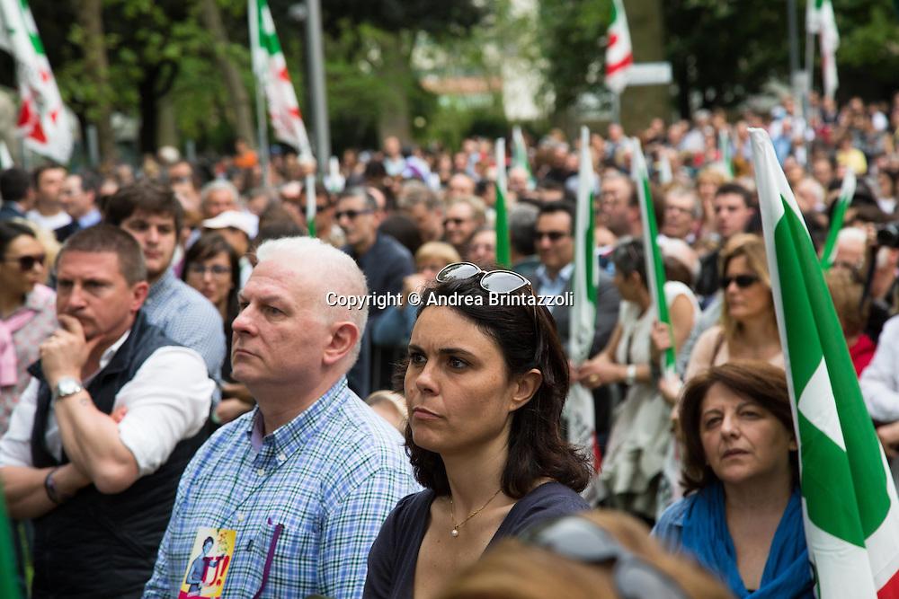 Bologna 03 Maggio 2015 70 anni di Feste. Chiusura Festa Nazionale dell&rsquo;Unit&agrave;<br /> Nella Foto: Simona Bonaf&egrave;