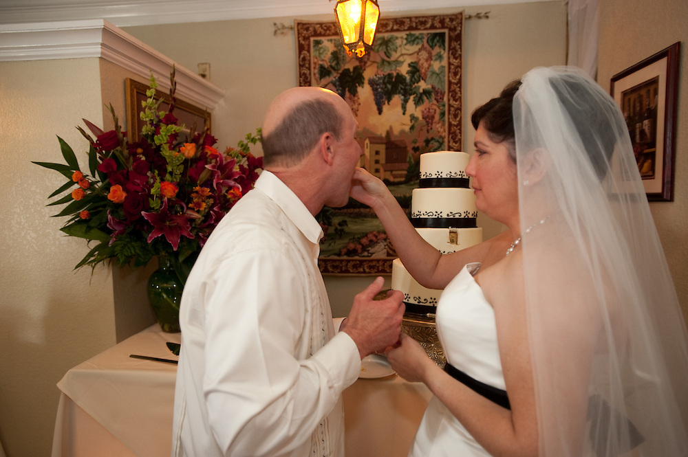Ruby Perez and Mark Webb wedding Saturday, November 7, 2009 at The Vineyard Restaurant..Photo © Bahram Mark Sobhani
