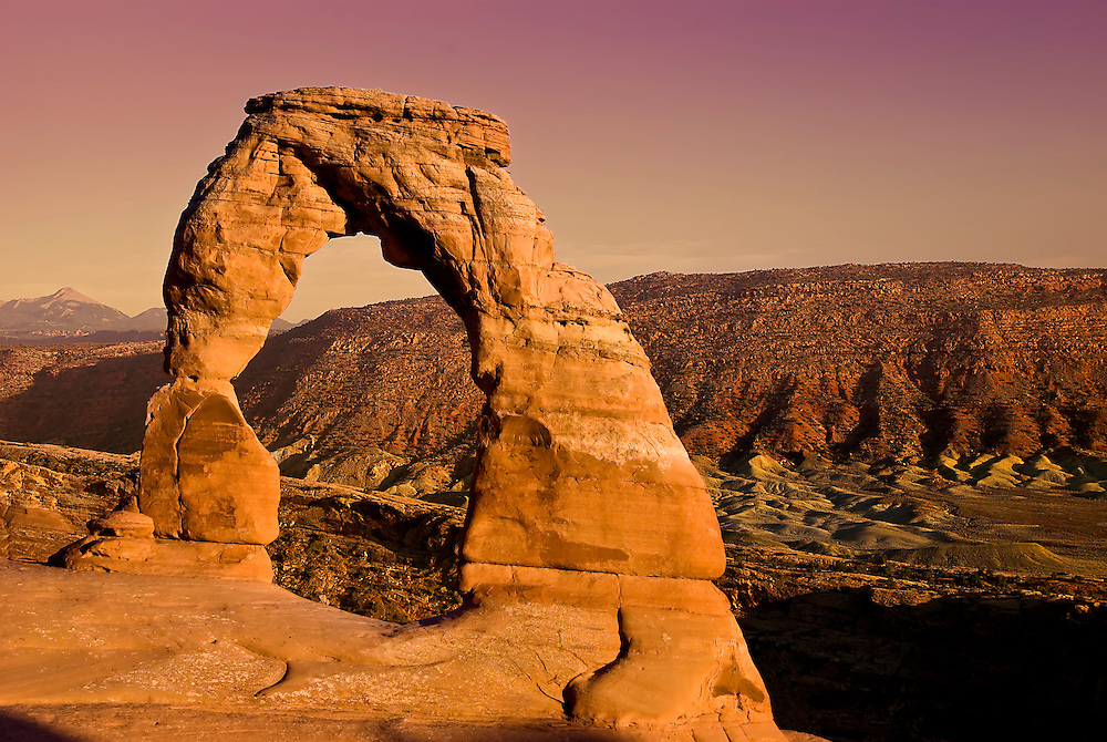Delicate Arch, Arches National Park, UT, USA.