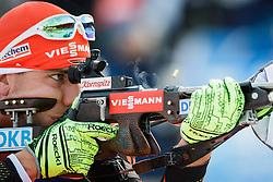 Arnd Peiffer (GER) during Men 10 km Sprint of the IBU Biathlon World Cup Pokljuka on December 17, 2015 in Pokljuka, Slovenia. Photo by Ziga Zupan / Sportida