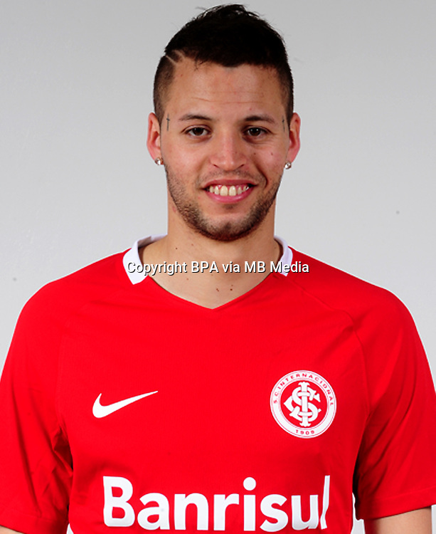 Brazilian Football League Serie A / <br /> ( Sport Club Internacional ) - <br /> Nicolas Federico Lopez &quot; Nicolas Lopez &quot;