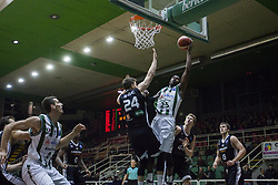 November 8, 2017 - Avellino, Campania, Italy - Shot basketball of Jason Rich of SIdigas Avellino during third day of Champions League match between Sidigas Avellino v Cez Nymburk at Palasport Giacomo Del Mauro, Avellino, Italy November on 8, 2017. Avellino won 80-63. (Credit Image: © Paolo Manzo/NurPhoto via ZUMA Press)