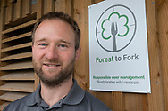Nick Richards, owner of Forest to Fork, a supplier of wild venison, Scotland.