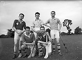 1952 Dublin Senior Hurling Team at Parnell Park