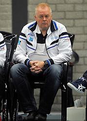 10-12-2011 VOLLEYBAL: ZAANSTAD - ABIANT LYCURGUS: ZAANSTAD<br /> Lycurgus wint vrij moeizaam met 3-2 in Zaanstad / Willem Frieling<br /> ©2011-FotoHoogendoorn.nl