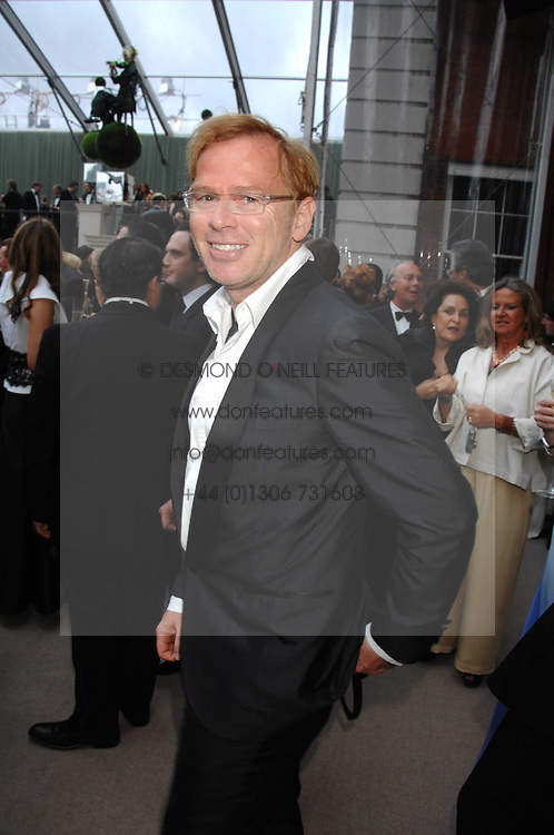 DAVID COLLINS at the Ark 2007 charity gala at Marlborough House, Pall Mall, London SW1 on 11th May 2007.<br /><br />NON EXCLUSIVE - WORLD RIGHTS