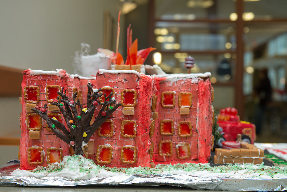 Winning entry in this year's gingerbread decorating competition.