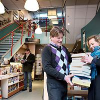 Nederland, Rotterdam , 5 maart 2010..Arno Snoek van Boekhandel Snoek.Foto:Jean-Pierre Jans