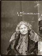The barber shop slasher, the back-street abortionist and the 'parasite in a skirt': Vintage Australian mugshots reveal some of the country's earliest women criminals<br /> <br /> Haunting images of the past have emerged, showing vintage black and white portraits of Australian women.<br /> But these are no ordinary women. These are the not-so-innocent faces of convicted criminals who were put behind bars from the 1880s to 1930s.<br /> Among them include the infamous razor gangster and prominent madam of the times - Matilda 'Tilly' Devine.<br /> Others include backyard abortionists, drug dealers and those convicted of bigamy, drunkenness and theft.<br /> most of them were sent to the State Reformatory for Women, Long Bay - south of Sydney - which is now known as Long Bay Correctional Complex.<br /> <br /> <br /> Photo shows:  Mug shot of Ada McGuinness, 26 July 1929, Central Police Station, Sydney.<br /> <br /> Special Photograph no. D33 (Drug Bureau Photograph). McGuinness is listed in the NSW Police Gazette of 25 September 1929 as having been convicted of two charges of having cocaine illegally in her possession, for which she was sentenced to concurrent six and twelve months imprisonment with hard labour. Her daughter Hazel McGuinness also faced the court at the same time, on similar charges, but was released on a bond (see 'Mug shot of Hazel McGuiness').<br /> <br /> Police and prosecution witnesses described McGuinness senior, who occupied a terrace house in Hargreave Street, as being one of the most active cocaine dealers in the Darlinghurst area at the time. A police witness described her as 'the most evil woman in Sydney'. In 1925, as 'Edith Cavanagh' she had been sentenced to twelve months (suspended) for having in her possession forged bank notes.<br /> ©NSW Police Gazette/Exclusivepix