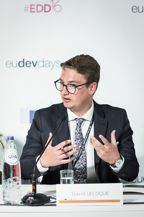 20160615 - Brussels , Belgium - 2016 June 15th - European Development Days - Will energy access alone end poverty ? - David Lecoque , Policy and Business Development Officer , Alliance for Rural Electrification © European Union