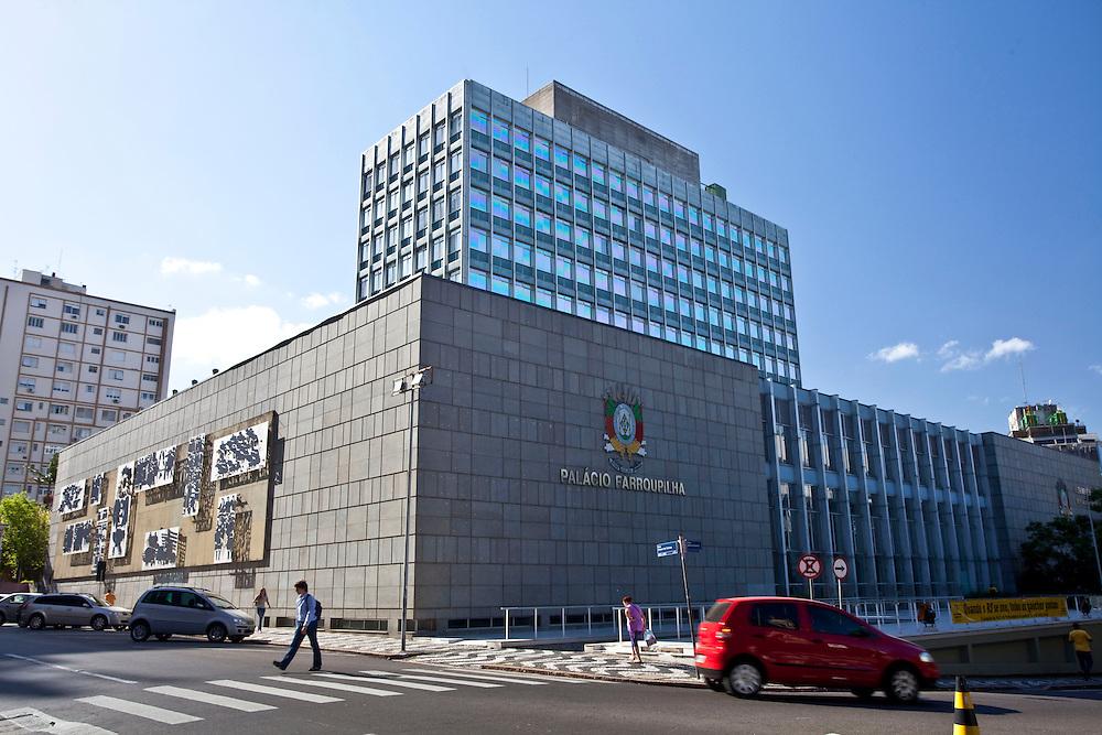Porto Alegre_RS, Brasil.<br /> <br /> Palacio Farroupilha, sede da Assembleia Legislativa do Rio Grande do Sul.<br /> <br /> Farroupilha palace in Rio Grande do Sul.<br /> <br /> Foto: JOAO MARCOS ROSA / NITRO