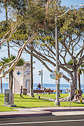 Downtown Laguna Beach at Main Beach Park