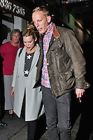 LONDON - October 03: Billie Piper & Lawrence Fox in London (Photo by Brett D. Cove)
