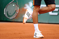 illustration raquette - chaussures / ADIDAS  - 26.05.2015 - Jour 3 - Roland Garros 2015<br /> Photo : Nolwenn Le Gouic / Icon Sport