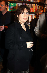 ALEXANDRA SHULMAN at a party to celebrate the publication of The new English Kitchen - Changing the Way You Shop, Cook and Eat by Rose Prince held at the Daunt Bookshop, 83 Marylebon High Street, London on 10th March 2005.<br />