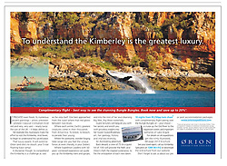 Tear Sheet - Sydney Morning Herald Traveller section, March 2-3 2013