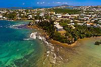 Aerial View, Coastline, Noumea, Grand Terre, New Caledonia
