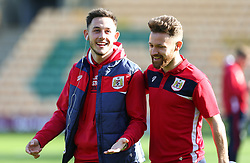 Josh Brownhill and Matty Taylor of Bristol City - Mandatory by-line: Arron Gent/JMP - 23/02/2019 - FOOTBALL - Carrow Road - Norwich, England - Norwich City v Bristol City - Sky Bet Championship