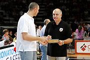 DESCRIZIONE : Caserta Lega A 2014-15 Pasta Reggia Caserta Enel Brindisi<br /> GIOCATORE : Vincenzo Esposito Raffaele Molin<br /> CATEGORIA : ritratto<br /> SQUADRA : Pasta Reggia Caserta<br /> EVENTO : Campionato Lega A 2014-2015<br /> GARA : Pasta Reggia Caserta Enel Brindisi<br /> DATA : 19/10/2014<br /> SPORT : Pallacanestro <br /> AUTORE : Agenzia Ciamillo-Castoria/A. De Lise<br /> Galleria : Lega Basket A 2014-2015 <br /> Fotonotizia : Caserta Lega A 2014-15 Pasta Reggia Caserta Enel Brindisi