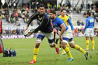 Sebastien VAHAAMAHINA - 25.01.2015 -  Clermont / Saracens - European Champions Cup <br />Photo : Jean Paul Thomas / Icon Sport
