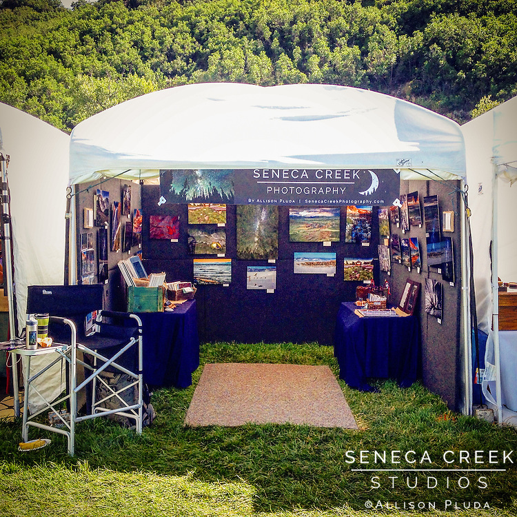 This juried show in July of 2015 is a 2 day event with 150 other artisans in the beautiful West Lincoln Park in Steamboat Springs, Coloardo.  Put on by the Steamboat Springs Arts Council.