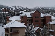 View from condo at Village Breckenridge Resort, Colorado
