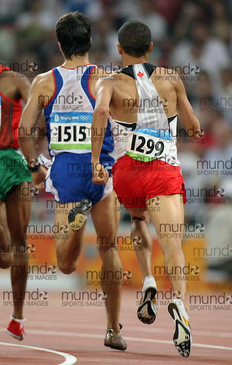 2008 Beijing Olympic Games- Day 6 - August 20th- Evening Achraf Tadili (Canad) 800m Day 6