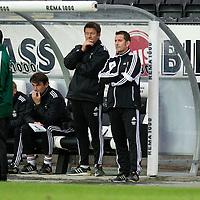 Rosenborg v St Johnstone....18.07.13  UEFA Europa League Qualifier.<br /> PER JOAR HANSEN (RIGHT)<br /> Picture by Graeme Hart.<br /> Copyright Perthshire Picture Agency<br /> Tel: 01738 623350  Mobile: 07990 594431