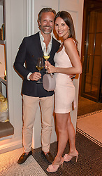 Carl Waxberg and Stephanie Waxbergat the Belmond Cadogan Hotel Grand Opening, Sloane Street, London England. 16 May 2019. <br /> <br /> ***For fees please contact us prior to publication***