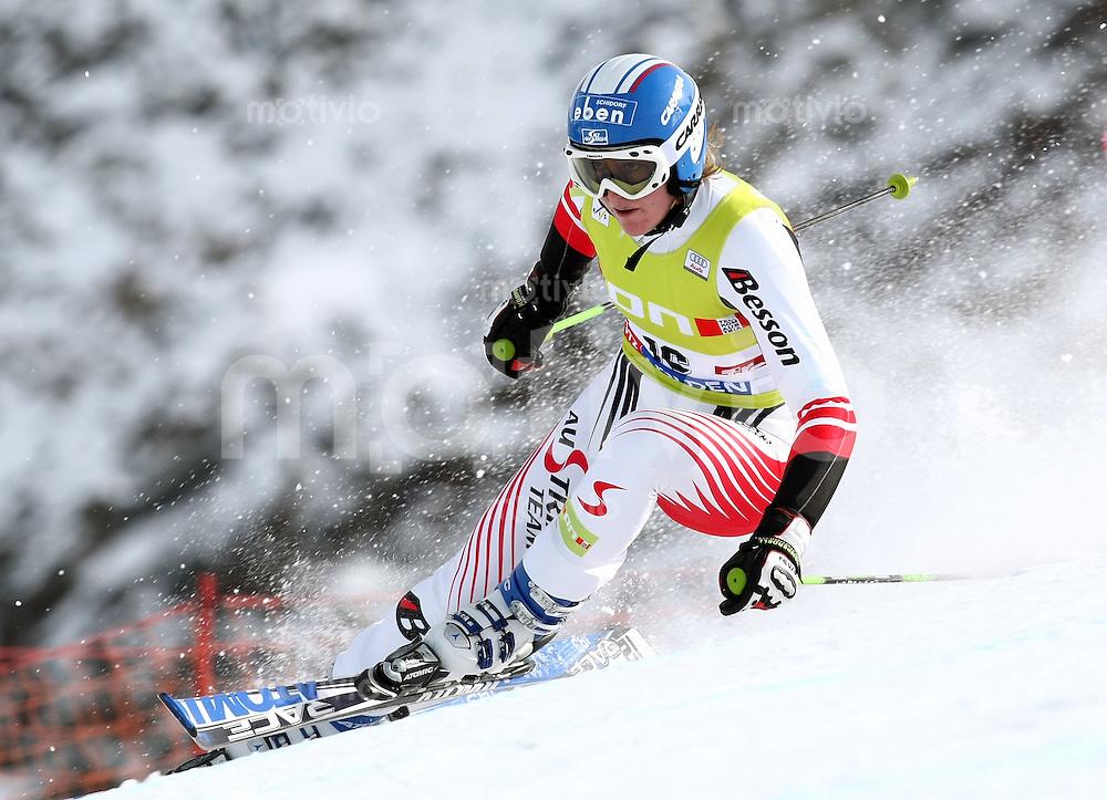 Ski Alpin; Saison 2006/2007  Riesenslalom Soelden Damen Andrea Fischbacher (AUT)