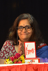 July 23, 2017 - Kolkata, West Bengal, India - Teesta Sitalbad the writer social activist today 23-7-2017 came in Kolkata for DYFI organational Magazine Yuba Sakty 50 years book release program me and attend seminer at Kolkata University Institute Hall. (Credit Image: © Sandip Saha/Pacific Press via ZUMA Wire)