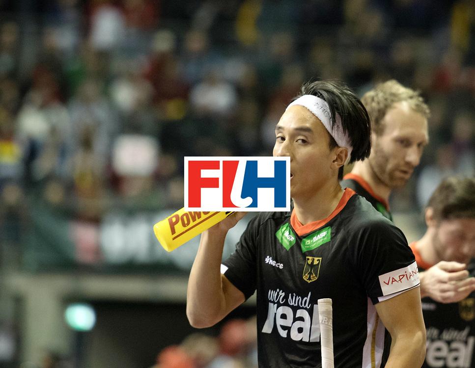 BERLIN - Indoor Hockey World Cup<br /> SF1 Germany - Iran<br /> foto: Dan Nguyen <br /> WORLDSPORTPICS COPYRIGHT FRANK UIJLENBROEK