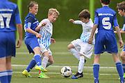 06.05.2017; Zuerich; <br /> Fussball FCZ Academy - FC Zuerich FE13 Oberland_FE13 TBOE; <br /> Samuel Steiner und Altin Selimi (Zuerich)  <br /> (Andy Mueller/freshfocus)