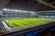 General view inside Ibrox Stadium, Glasgow, Scotland before the Ladbrokes Scottish Professional Football League Premiership match between Rangers and Aberdeen on 5 December 2018.