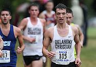 September 6, 2014: The Oklahoma Christian University Eagles men's cross country team participates in the UCO Land Run at Santa Fe High School in Edmond, OK.