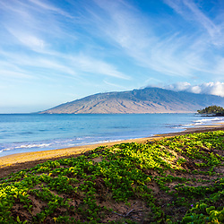 Maui Kamaole Beach and Maalaea Bay photo in Wailiea Kihei Hawaii in the Hawaiian Islands. Copyright ⓒ 2019 Paul Velgos with All Rights Reserved.