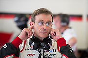 June 13-18, 2017. 24 hours of Le Mans. Pascal Vasselon, Technical Director, Toyota Gazoo Racing