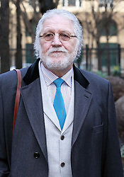 Dave Lee Travis arriving at Southwark Crown Court in London as his trial continues, Monday, 3rd February 2014. Picture by Stephen Lock / i-Images