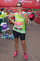 Nina Hossain (ITV news presenter running for Whizz-Kids). The Virgin Money London Marathon, 23rd April 2017.<br /> <br /> Photo: Joanne Davidson for Virgin Money London Marathon<br /> <br /> For further information: media@londonmarathonevents.co.uk