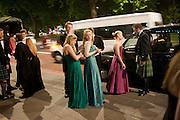 ELIZABETH BLACK; FENELLA DAWNAY, The Royal Caledonian Ball 2011. In aid of the Royal Caledonian Ball Trust. Grosvenor House. London. W1. 13 May 2011.<br /> <br />  , -DO NOT ARCHIVE-© Copyright Photograph by Dafydd Jones. 248 Clapham Rd. London SW9 0PZ. Tel 0207 820 0771. www.dafjones.com.