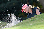 November 20, 2011: Belen Mozo (Spain) from the green side bunker 4th hole during final round golf action from the CME Group Titleholders held at The Grand Cypress Resort, Orlando, Fla.