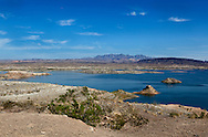 .Lake Mead National Recreation Area in Nevada.