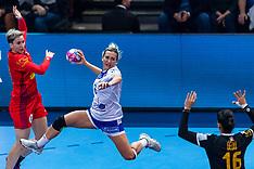 20181214 FRA: Women European Handball Championships Russia - Romania, Paris