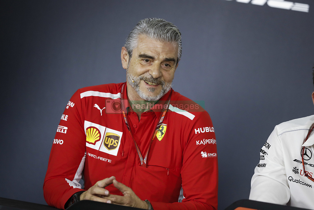 March 23, 2018 - Melbourne, Victoria, Australia - ARRIVABENE Maurizio, Managing Director & Team Principal Scuderia Ferrari, portrait during 2018 Formula 1 championship at Melbourne, Australian Grand Prix, from March 22 To 25 - Photo  Motorsports: FIA Formula One World Championship 2018, Melbourne, Victoria : Motorsports: Formula 1 2018 Rolex  Australian Grand Prix, (Credit Image: © Hoch Zwei via ZUMA Wire)