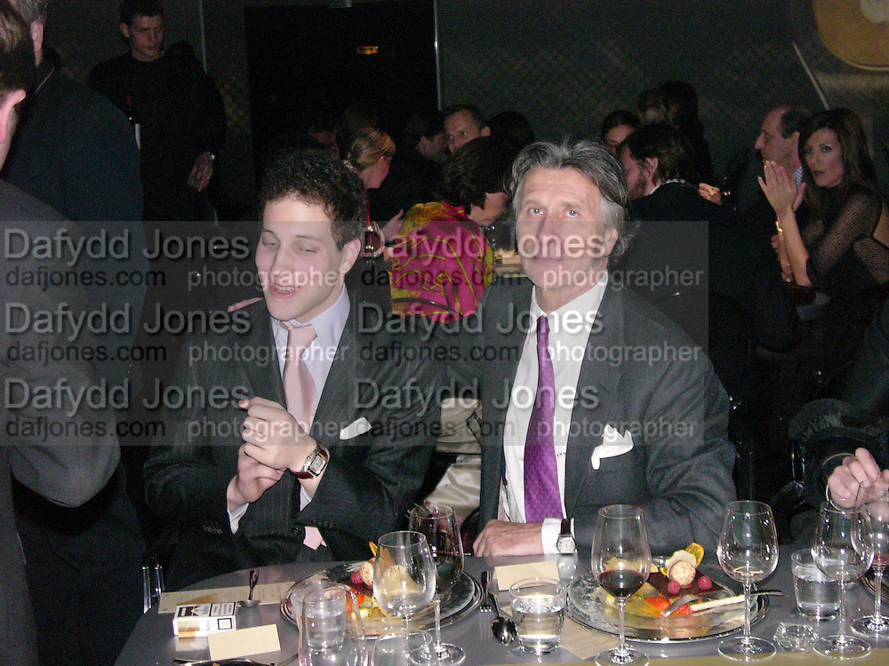 Lord Frederick Windsor  and Arnaud Bamberger Party to celebrate 100 years of the Santos  de Cartier watch. Le Bourget airport. Paris. 7 April 2004. ONE TIME USE ONLY - DO NOT ARCHIVE  © Copyright Photograph by Dafydd Jones 66 Stockwell Park Rd. London SW9 0DA Tel 020 7733 0108 www.dafjones.com