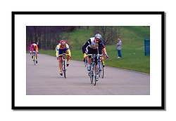 Bradley Wiggins 1996<br /> <br /> A young Bradley Wiggins winning the junior race at the March Hare meeting at Eastway.
