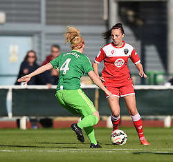 Bristol Academy's Caroline Weir in action against Sunderland AFC Ladies - Mandatory by-line: Paul Knight/JMP - 25/07/2015 - SPORT - FOOTBALL - Bristol, England - Stoke Gifford Stadium - Bristol Academy Women v Sunderland AFC Ladies - FA Women's Super League