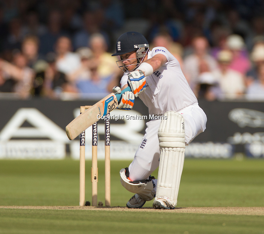 Ian Bell bats during the third and final Investec Test Match between England and South Africa at Lord's Cricket Ground, London. Photo: Graham Morris (Tel: +44(0)20 8969 4192 Email: sales@cricketpix.com) 17/08/12